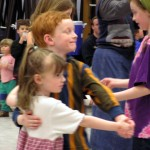 Kids waltzing